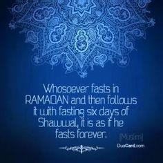 Ramadan +6Tage Schawal