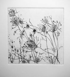 Dry point is the most direct form of intaglio.  The artist simply takes a sharp point and uses it to scratch into the metal plate to create ...