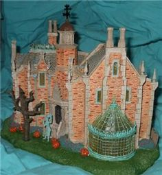 Disney Haunted Mansion House Theme Park Exclusive Retired Lights Up | eBay