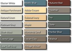Vinyl Siding Colors House Siding Colors Green Siding Colors With Red Brick House The Perfect Paint Schemes For House Exterior Painting Vinyl Siding, Vinyl Siding Colors, Siding Colors For Houses, Exterior Siding Colors, Vinyl Shake Siding, Green Siding, House Front, House Ideas, Contemporary Houses