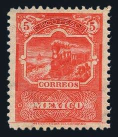 Mexico, 1895, 5p, 10p Values, Scott Nos. 255-256, n.h., 10p light gum wrinkle, fresh colors, fine to very fine (Photo). Scott $950 (o.g.). Estimate$700-800. Lot condition ** Dealer Harmer-Schau Auction Starting Price: 475.00 US$