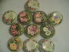 Suely Pinturas: SABONETES NATURA COM PINTURA - Estes foram encomenda da minha amiga Sheila
