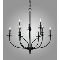 """Farmhouse Table Light Dilemma - All Things Heart and Home.  Westmoreland Chandelier 29""""D $385 @ Lowes"""