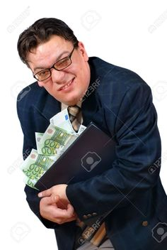 951911-Greedy-salesman-holding-on-to-his-laptop-PC-stacked-with-euro-bank-notes-with-an-apparent-grimace-of-Stock-Photo.jpg (870×1300)