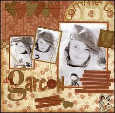 Stampin' Up !® 2006 Recollection papers