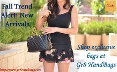 Fall Trend Alert! New Arrivals. Shop exclusive bags at Gr8 HandBags
