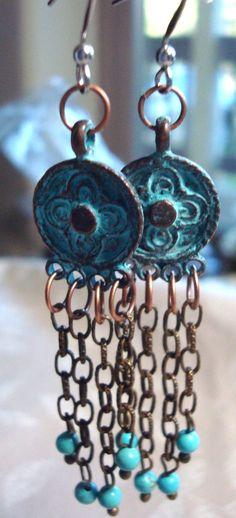 Easy Earring Ideas | Mykonos Earrings | Kathy Zee | Jewelry Making Journal
