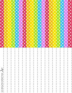 Rainbow Splash Stars Set 1 by blackheartqueen.deviantart.com on @DeviantArt