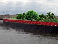Floating urban forest coming to New York this summer