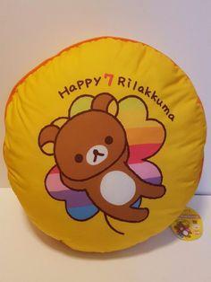 Authentic Rilakkuma san-x 40cm 7th Anniversary BIG Cushion From Japan KAWAII New | Collectibles, Animation Art & Characters, Japanese, Anime | eBay!