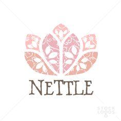 nettle flower logo | StockLogos.com