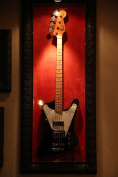 The Who's bassist John Entwistle used this bass guitar on stage, and to record the rock-opera 'Tommy'.