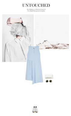 """""""Trying to find that elusive piece of mind;"""" by bestdressx ❤ liked on Polyvore featuring J Brand, MM6 Maison Margiela, The Row and Alexander Wang"""