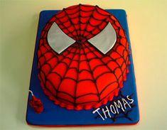 Torta del Hombre Araña - paso a paso