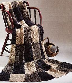 Free Crochet Pattern: Warm Up America Afghan http://www.lionbrand.com/patterns/chs-warmUpAmericaAfghan.html