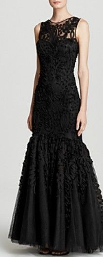 One of the most gorgeous black dresses we've seen for the bride or grooms mother for the wedding