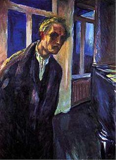 gioiamia @seccogladys  ·  22 gen @TwoReaders   #lucedestate #stefansson E.Munch,  Uomo che passeggia di notte