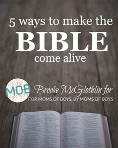 The Bible has amazing power to transform our lives when we open it, know it, speak it, use it, and love it.