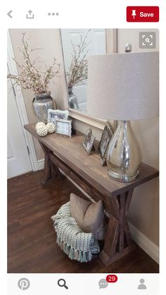Home Decorating Ideas Bedroom rustic farmhouse entryway table. by ModernRefinement on Etsy Home Decorating Ideas Bedroom Source : rustic farmhouse entryway table. by ModernRefinement on Etsy by Share Rustic Farmhouse Entryway, Modern Farmhouse, Rustic Table, Farmhouse Table, Rustic Buffet, Rustic Sofa, Rustic Chic Decor, Bedroom Rustic, Farmhouse Interior