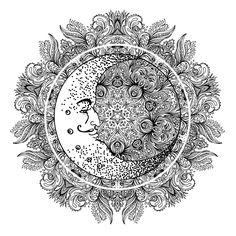 Sacred Geometry Temporary Tattoo #610