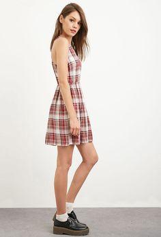 Tartan Plaid Tank Dress - Shop All Sale - 2000173597 - Forever 21 EU English
