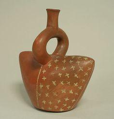 Ceramic container, Peru