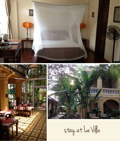La Villa. Battambang, Cambodia. {via basik travel guide}