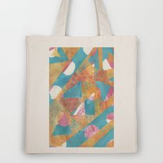 Gel Print 5 Tote Bag by Rachel Winkelman - $18.00