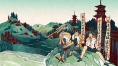 Religion may play an ambiguous role in Japanese life but the arduous pilgrimage remains popular with walkers, cyclists and coachloads