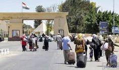 مصر تواصل فتح معبر رفح لليوم الثالث والأخير: مصر تواصل فتح معبر رفح لليوم الثالث والأخير