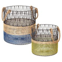 2-Piece Andover Basket Set - By the Beach on Joss & Main