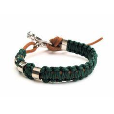 Pine Macrame Bracelet, 54€, now featured on Fab.