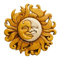 Sun and Moon Wall plaque fits into almost all decorating styles