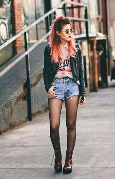 Ideas para vestirse siguiendo la estética noventera del rock grunge