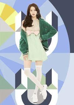 Snsd Fashion, Girl Fashion, Kpop Outfits, Girl Outfits, Im Yoon Ah, Yoona Snsd, Girls Generation, Bows, Actresses