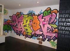 Colorful Graffiti Alphabet Art