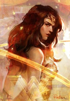 Painting of wonder woman after watching Batman V Superman. My favourite character throughout the movie Wonder Woman Wonder Woman Art, Superman Wonder Woman, Wonder Woman Comic, Wonder Women, Wonder Art, Batman Vs Superman, Spiderman, Batman Comics, Comic Books Art