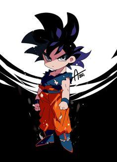 Ultra Instinct Goku chibi new form Goku Chibi, Goku Y Vegeta, Kid Goku, Anime Chibi, Chibi Kawaii, Fanart, Dragon Ball Gt, Cartoon, Meme