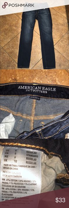 American Eagle Dark Wash Jeans American Eagle Dark Wash Jeans. Make an offer I will lower my prices!! American Eagle Outfitters Jeans