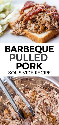 Make the most perfectly tender and juicy Sous Vide Pulled Pork using the sous vide cooking method. This BBQ pulled pork is a perfect meal that is both budget friendly and freezer friendly. Pair with any side for a quick and easy dinner. It makes great leftovers too!