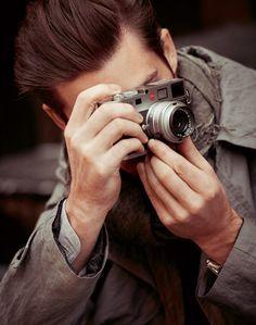 Strellson X Leica #photographer #leica #menswear