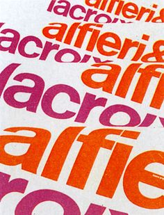 poster for Alfieri + Lacroix by Franco Grignani (1950)