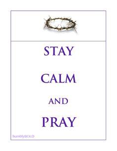 Stay Calm...