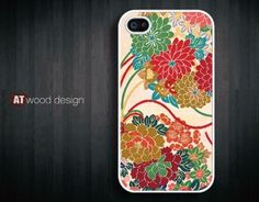 iphone 4 case iphone 4s case iphone 4 cover green by Atwoodting by atwoodting