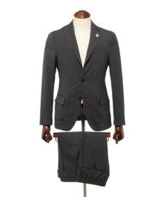 【カタログ掲載商品】LARDINI / 別注 トロピカルウール パッカブルスーツ