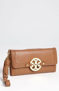 Tory Burch 'Amanda' Wristlet Wallet... I really want this