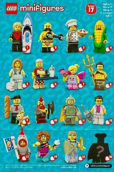 SERIES 17 MINIFIGURE CMF AUTHENTIC COLLECTIBLE TOY FIG LEGO CORN COBB GUY