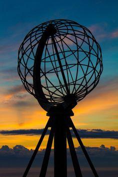 De middernachtzon gaan bewonderen in Noordkaap, Noorwegen #ikreisgraag @Reisgraag