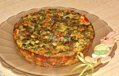 Quiche, Stuffed Mushrooms, Muffin, Food And Drink, Veggies, Cooking Recipes, Breakfast, Easter, Party