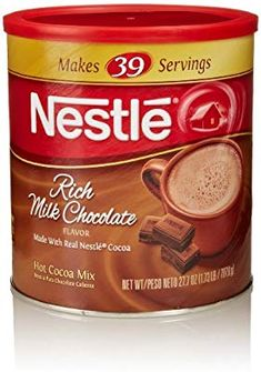 Nestlé Rich Chocolate Hot Cocoa Mix With over 100 years of making chocolatey memories, the chocolate experts at Nestlé bring you a rich, creamy, choco. Chocolate Shop, How To Make Chocolate, Chocolate Flavors, Hot Cocoa Mixes, Backpacking Food, Camping, Simple Christmas, Christmas Gifts, Xmas